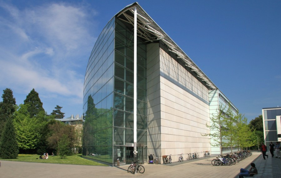The Law Faculty building at Cambridge University